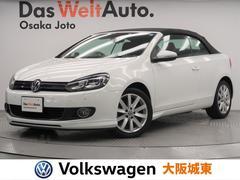 VW ゴルフカブリオレベースグレード レッドレザーシート・純正ナビ