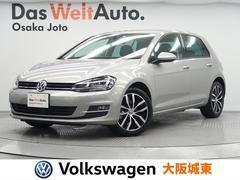 VW ゴルフTSIハイライン コネクト 純正ナビ・Bカメ・ETC・ACC