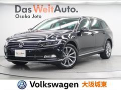 VW パサートヴァリアントTDIハイライン 純正ナビ・Bカメ・フルセグ・ETC・ACC
