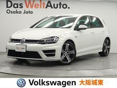 VW ゴルフRベースグレード 純ナビ・Bカメ・レザーシート・ETC