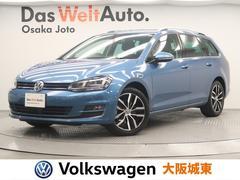 VW ゴルフヴァリアントTSIハイライン コネクト 1オーナー・特別AW