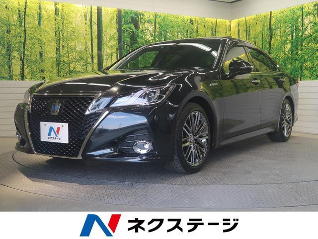 トヨタ アスリートG 黒革 ムーンルーフ