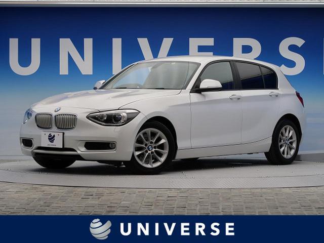 BMW 116i スタイル 純正ナビ ハーフレザーシート 1オーナー