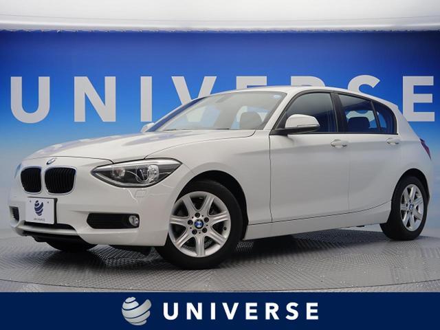 BMW 116i 1オーナー 自社買取 プッシュスタート 保証書