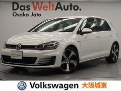 VW ゴルフGTIベースグレード 自社買取・1オーナー・DCCPKG