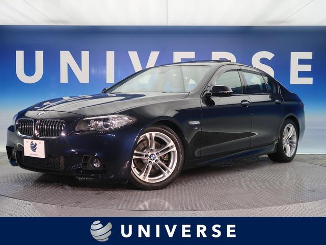 BMW 528i Mスポーツ サンルーフ 純正18インチAW