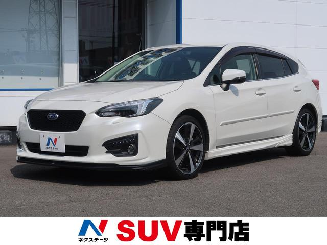 スバル 2.0i-Sアイサイト 4WD 現行 STIリップ 黒革