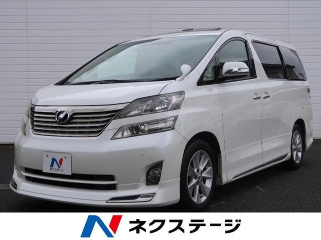 トヨタ 3.5V Lエディション ムーンルーフ 本革シート 純正ナビ