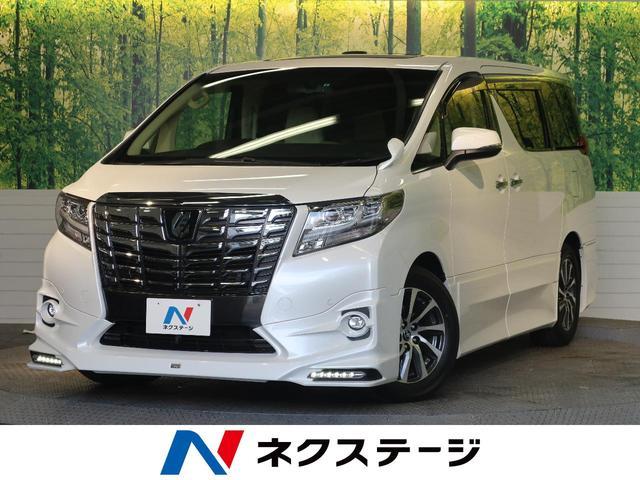 トヨタ 2.5G TRDエアロ アルパイン9型SDナビ