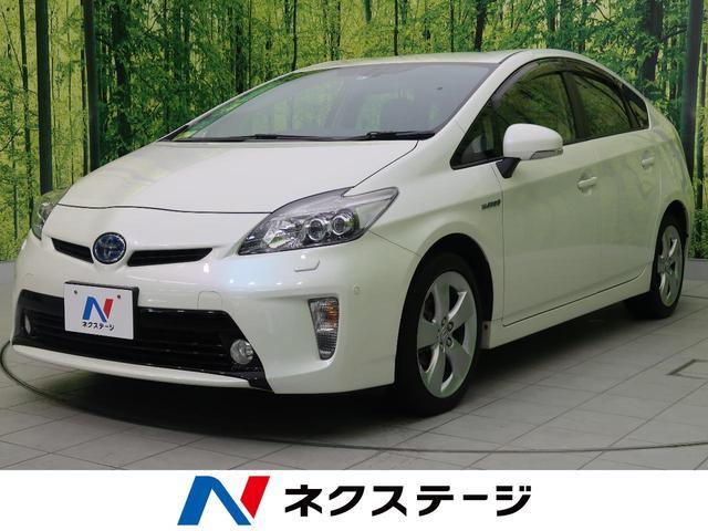 トヨタ Gツーリングセレクション・レザーパッケージ 純正HDDナビ