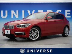 BMW118dファッショニスタ アップグレードPKG 白革 ACC