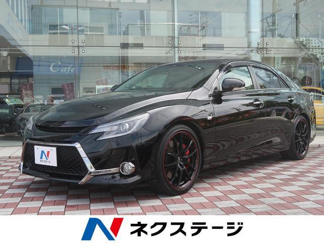 トヨタ 250G Sパッケージ G's 純正SDナビ 黒半革