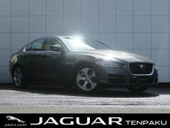 ジャガーXE プレステージ 認定 1オーナー 黒革 ACC AWD