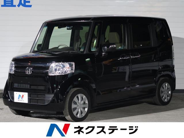 沖縄の中古車 ホンダ N-BOX 車両価格 115.9万円 リ済別 2017(平成29)年 3.2万km クリスタルブラック・パール