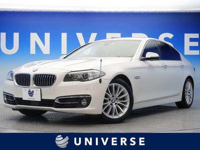 BMW 523d ラグジュアリー 黒革 衝突軽減ACC フルセグTV