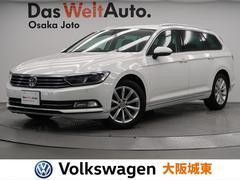 VW パサートヴァリアントTDIエレガンスライン デモカー・SDナビ・ハーフレザー