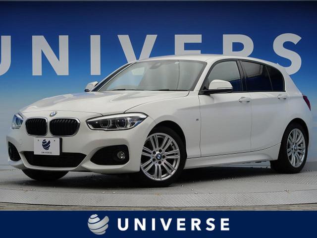 BMW 118i Mスポーツ 1オーナー 純正ナビ LEDヘッド