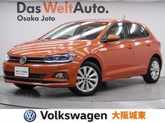 VW ポロTSIハイライン 現行型・純正ナビ