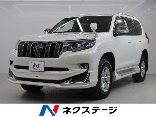 トヨタ TX モデリスタエアロ サンルーフ 純正ナビ 4WD 7人乗
