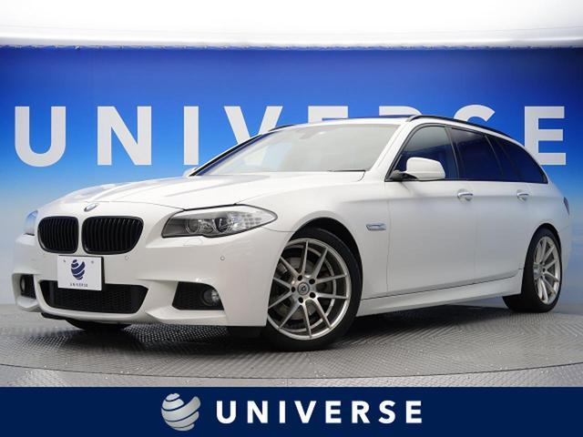BMW 528iツーリング Mスポーツ サンルーフ 黒革 19AW