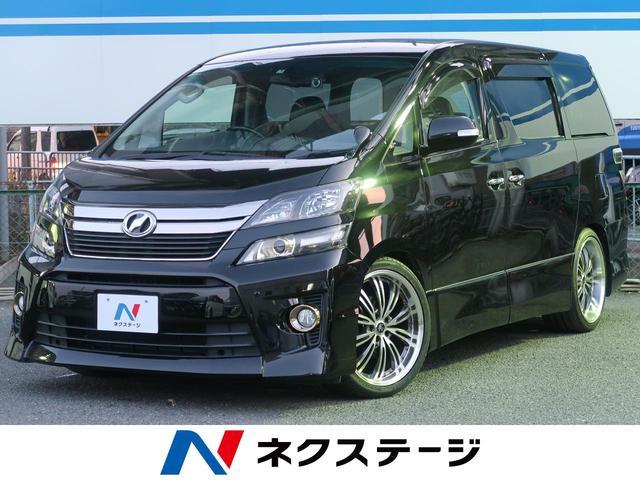トヨタ 2.4Z ゴールデンアイズ アルパインBIG-X9型ナビ