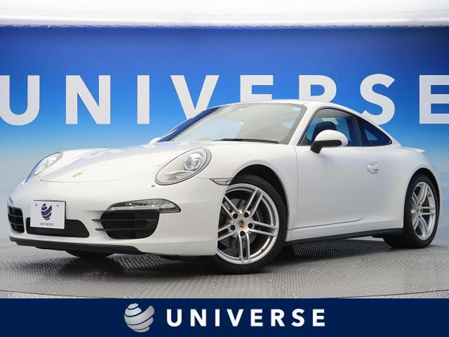 ポルシェ 911カレラ4 スポーツクロノPKG 黒革 キセノン ETC