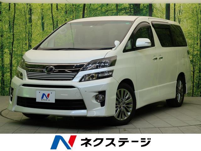 トヨタ 2.4Z ゴールデンアイズ 後期型 ALPINE10型ナビ