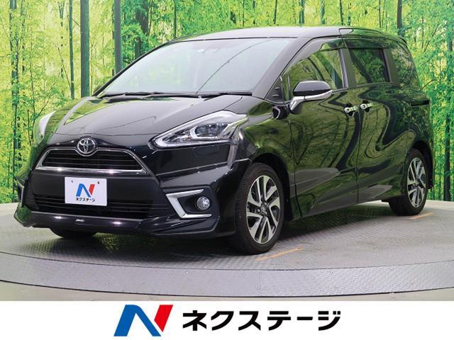 トヨタ G クエロ 純正SDナビ 後席モニター 両側電動スライド