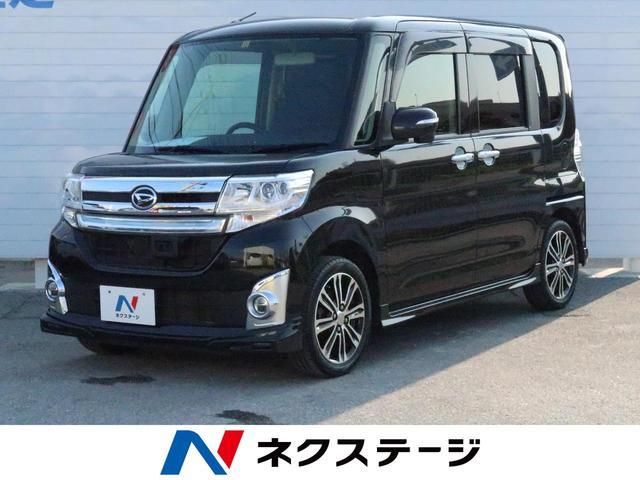 沖縄県の中古車ならタント カスタムRS SA 純正8型ナビ 両側電動ドア 衝突軽減装置
