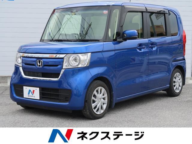 沖縄県の中古車ならN-BOX G・Lターボホンダセンシング 純正SDナビ バックモニター