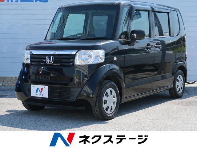 沖縄県の中古車ならN-BOX G・Lパッケージ 純正ナビ Bモニター 両側電動ドア ETC