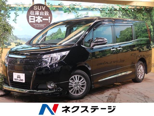 トヨタ エスクァイア Gi ブラックテーラード セーフティセンス 純正10型ナビ