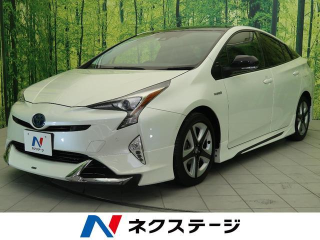 トヨタ Sセーフティプラス ツートーン 純正SDナビ バックカメラ