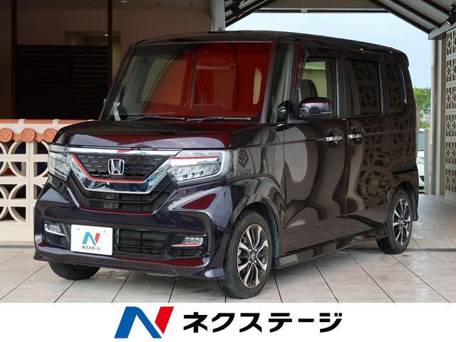 沖縄県の中古車ならN-BOXカスタム G・EXホンダセンシング バックカメラ スマートキー ETC
