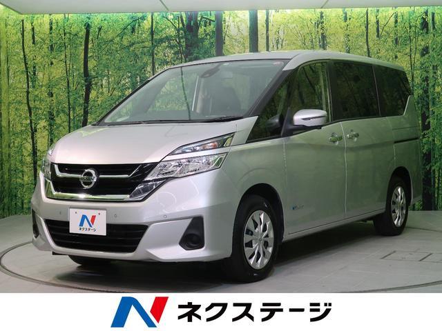 日産 X Vセレクション 4WD セーフティA 社外ナビ 両側電動