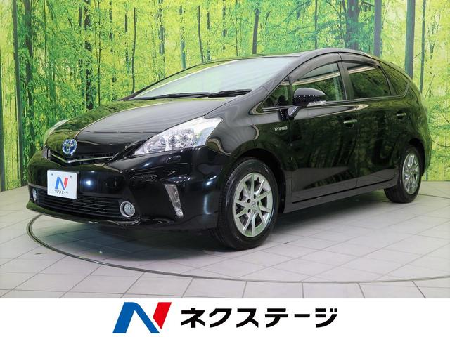 トヨタ S チューン ブラック 社外7型SDナビ