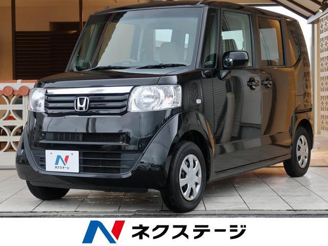 沖縄の中古車 ホンダ N-BOX 車両価格 52.9万円 リ済別 2012(平成24)年 8.7万km クリスタルブラック・パール