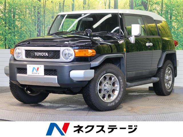 トヨタ FJクルーザー ベースグレード 純正ナビ 純正17インチオプションAW