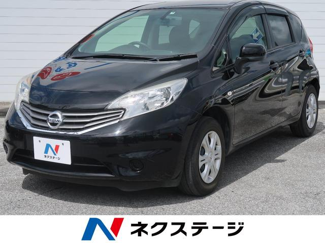 沖縄の中古車 日産 ノート 車両価格 35.9万円 リ済別 2013(平成25)年 4.0万km スーパーブラック