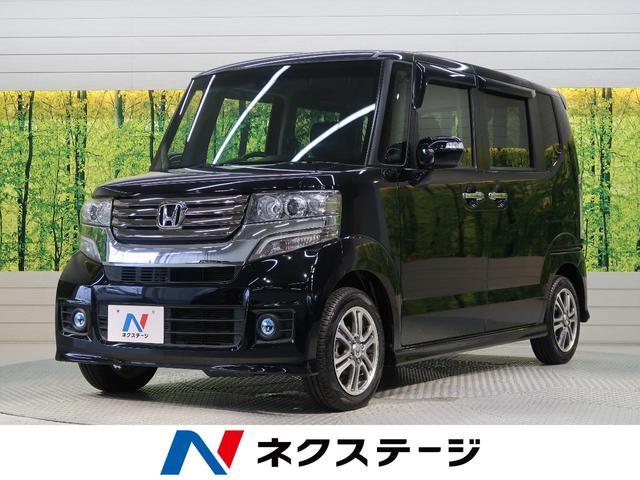 ホンダ N-BOXカスタム G特別仕様車SSパッケージ 純正8型インターナビ