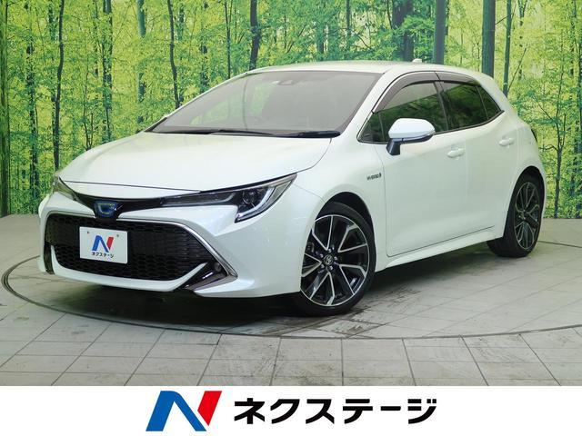 トヨタ カローラスポーツ ハイブリッドG Z 純正9型ナビ セーフティーセンス 禁煙車