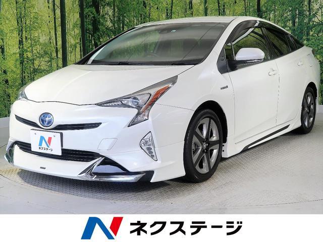 トヨタ S セーフティセンス モデリスタフルエアロ 純正ナビ