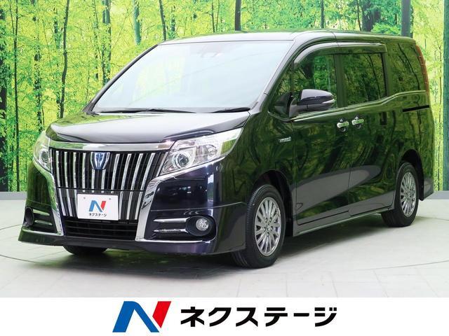 トヨタ エスクァイア ハイブリッドGi 両側電動ドア アルパイン9型ナビ