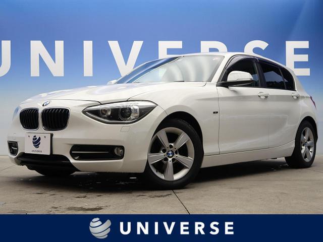BMW 1シリーズ 116i スポーツ iDriveナビゲーションPKG HIDヘッド HDDナビゲーションシステム DVD USBオーディオインターフェイス ステアリングスイッチ 純正17インチAW 禁煙車 プライバシーガラス ETC