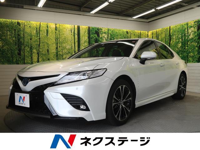 トヨタ カムリ WS 禁煙車 9型ナビ セーフティセンス クリアランスソナー