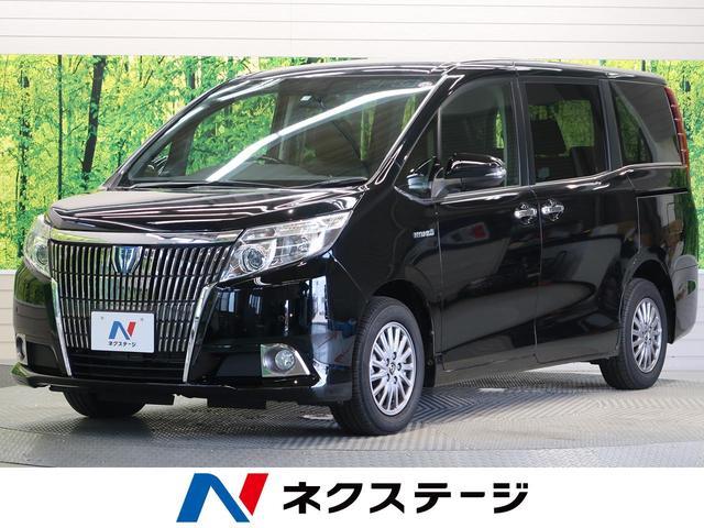 トヨタ ハイブリッドGi 黒革 両側電動ドア リアオートエアコン