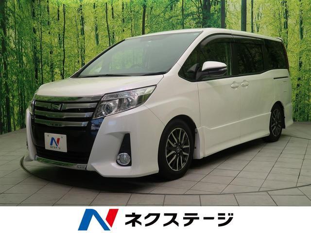トヨタ ノア Si 7人 純正9型ナビ LEDヘッド スマートキー