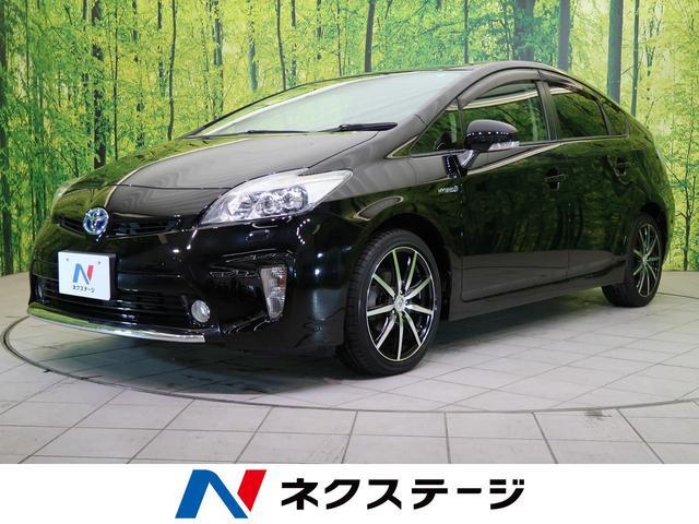 トヨタ プリウス Sツーリングセレクション アルパイン9型SDナビ