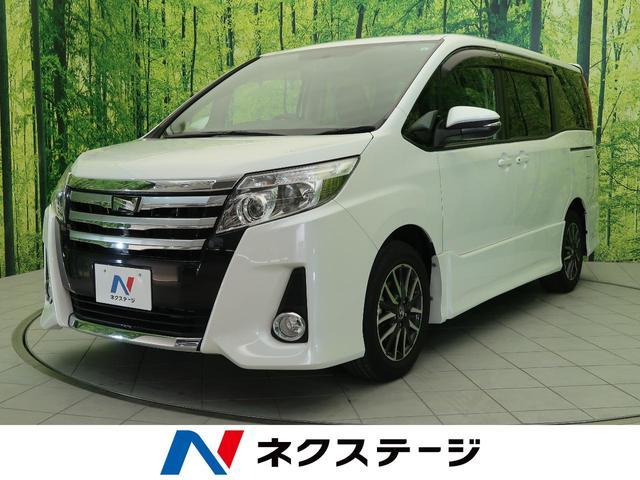 トヨタ ノア Si 禁煙車・純正ナビ・両側電動スライドドア・純正アルミ