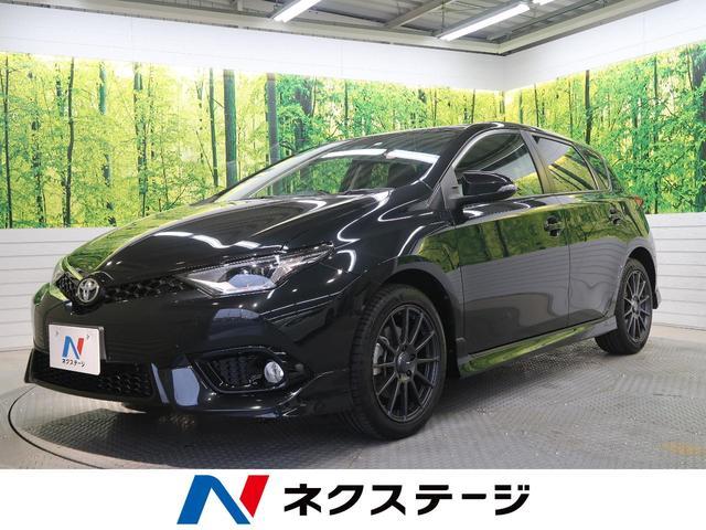 トヨタ オーリス RS 禁煙車 6MT セーフティセンスC ENKEI17AW